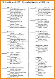 Nursing Assistant Skills List For Resume To Example Spacesheep Co