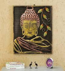 divine iron buddha wall art frame