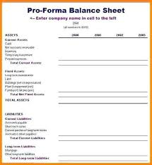 Pro Forma Example Pro Income Statement Excel Co Forma Example Pdf Template