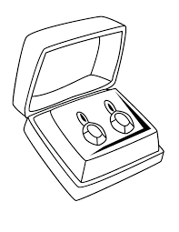 jewelry coloring pages box ancient egyptian