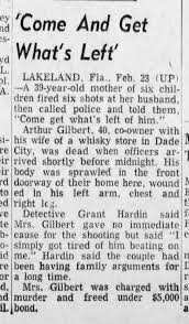 Myra Gilbert arrested for the murder of her husband, Arthur Gilbert -  Newspapers.com