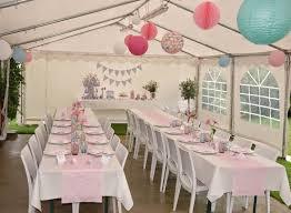 Deco Table Bapteme Garcon Et Decoration Idee Rose Fille Vert Photo ...