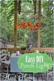 diy porch light