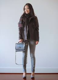 sensible stylista blogger grey jeans tartan scarf leather jacket handbag snake print jacket bag shoes scarf