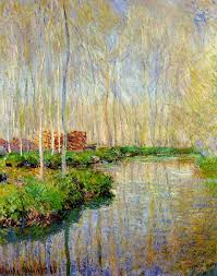the river epte claude monet i remember drawing something like this in grade it was no way near as excellent as this