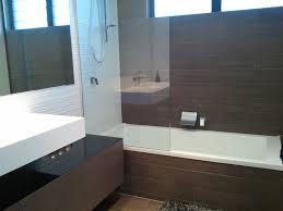 tiles bathroom floor. Bathroom Feature Wall: Street White Porcelain Tile ; Floor And Bathtub Tavola Tiles