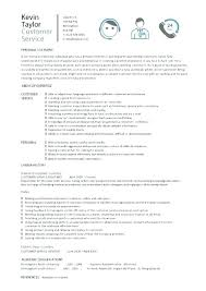 Job Resume Template 2018 New Customer Service Resume Template New Customer Service Representative