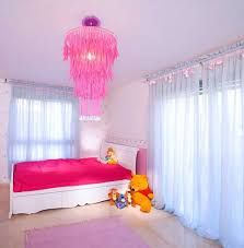 little girl chandelier bedroom
