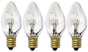 Night Light Wax Warmer Bulbs 4 Pack 15 Watts Replacement Bulbs For Plug In Nightlight Warmer Wax Diffuser