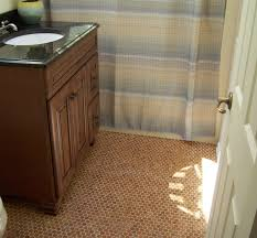 Penny Tile Kitchen Floor Penny Tile Bathroom Floor Home Design Website Ideas