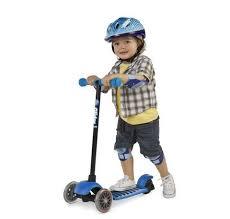 <b>Самокат</b> детский от 3 лет <b>Yvolution Glider Deluxe</b> синий – купить ...