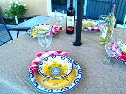 round tablecloth with umbrella hole excellent top outdoor tablecloths in outdoor tablecloth round modern dining impressive