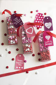 these mini boxes of m m s cans are the cutest diy valentine s day gift idea