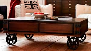 Magnificent Coffee Tables With Wheels with Coffee Table Stunning Coffee  Table With Wheels Design Ideas