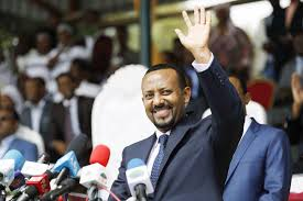 Image result for PHOTO OF PM Abiy AHMED