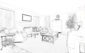 Bedroom Interior Design Drawing Home Interior Decoration Sketches Interior Design Sketches