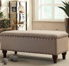 living room bench upholstered storage bench ottoman seat lounge bedroom living room decoration bedroom lounge furniture