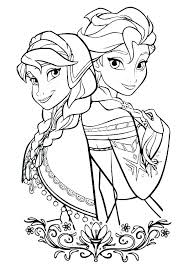 Free Printable Disney Frozen Christmas Coloring Pages Coloring Pages