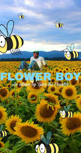flower: Flower Boy Album Wallpaper