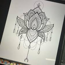 Mandala Lotus Tattoos Tetování Lotosu Tetování A Nápady Na Tetování