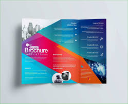 Tri Fold Business Card Template Word 21 Simple Brochure Template Word
