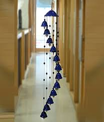 Aroma Decor Melodious Sound Ceramic Wind Chimes  Decorative Items Home Decoration Items
