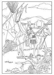 Native American Coloring Pages Printables At Getdrawingscom Free