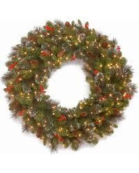 national tree co crestwood spruce indooroutdoor christmas wreath national tree company wreaths e96