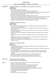 Lead Engineer Systems Engineer Resume Samples Velvet Jobs