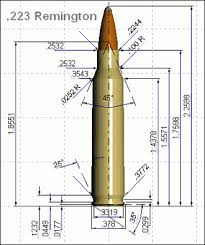 Cartridge Length Chart 223 Rem 223 Ai Cartridge Guide