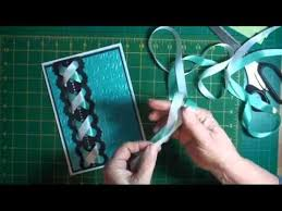 Plaited Ribbon Card Tutorial Cardmakingmagiccom  YouTubeCard Making Ideas Youtube