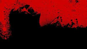 black ilration night red sky silhouette blood 30 days of night art darkness graphics puter wallpaper