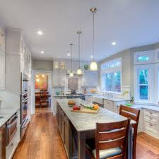 White and Grey kitchen remodel - Traditional - Kitchen - San Francisco - by Gloria  Carlson - Harrell Remodeling, Inc.