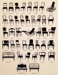 in style furniture. BENT CHAIR ID: Thonet Patented A Process Of Bending Under Heat Several Layers Wood Veneer Glued Together And Laminated.and Used The New Material To In Style Furniture E