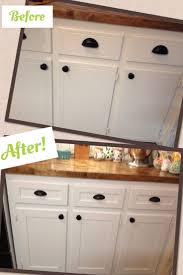Kitchen Cabinet Refinishing Before And After Inspirational Cabinet