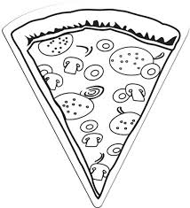 Small Picture Pizza coloring pages for kids printable ColoringStar