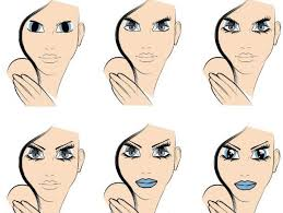 Btec Ual Level 3 Production Arts Makeup Mu Step By Step Face Charts For Application