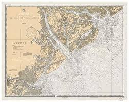 Chart House Hilton Head Closed Amazon Com St Helena Sound To Savannah River 1933 Beaufort