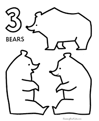 Small Picture Coloring Pages For Toddlers Numbers Coloring Pages