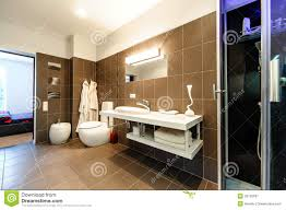 Bagni Moderni bagni moderni di lusso : Interno Di Lusso Del Bagno Moderno Immagine Stock - Immagine: 29105297