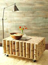 diy outdoor log furniture. Diy Rustic Furniture Birch Tree Log Coffee Table Outdoor Chairs
