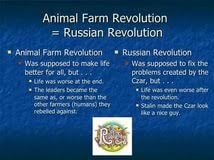 correlation research examples animal farm and russian revolution essay