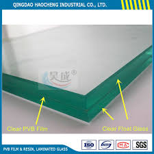 china clear 6 38mm pvb laminated safety glass for windows doors