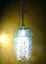 luxury recycled glass chandelier49