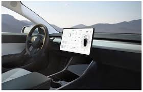 Car Ux Design Interface Concept For Tesla In Car Dashboard A Ux Case Study