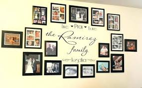 medium size of golden photo frames design on wall wallpaper ideas without family frame picture personalized