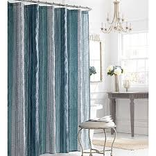 Manor Hill Sierra Shower Curtain in Blue Bed Bath & Beyond