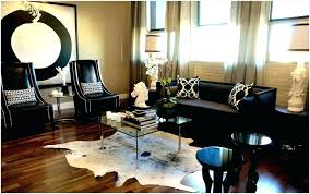 small black cowhide rug faux cowhide rug black and white large cowhide rug small white and