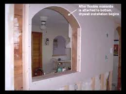 how to build interior arches revised