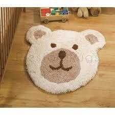 nursery teddy bear children s rug